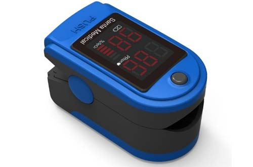 Santamedical SM-150 Fingertip Pulse Oximeter Oximetry Blood Oxygen Saturation Monitor