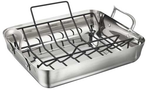 Roaster with Nonstick Roasting Rack