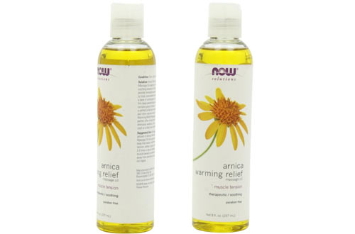 Foods Arnica Warming Relief Massage Oil