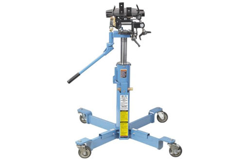 Air-Assisted High-Lift Transmission Jack