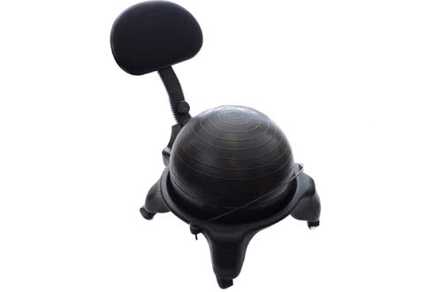 Best Exercise Ball Chairs  Stability Balls For Office Reviews - Ball chairs for office