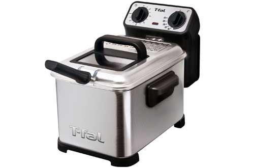 Oil Capacity Electric Deep Fryer with Stainless Steel Waffle