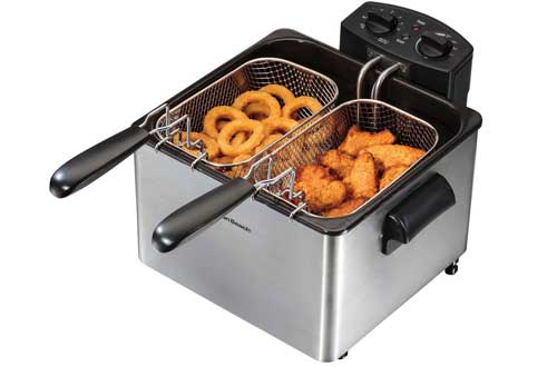 Professional-Style Deep Fryer