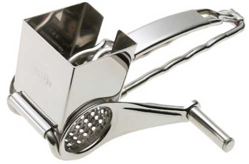 Rotary Accutec Stainless Steel Grater