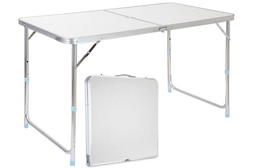 Adjustable Aluminum Camping Portable Folding Table