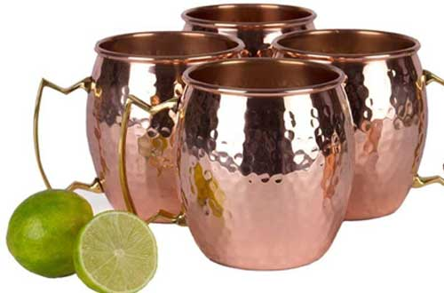 Pure Copper Unlined Mug