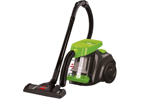 Bagless and Corded Canister Vacuum