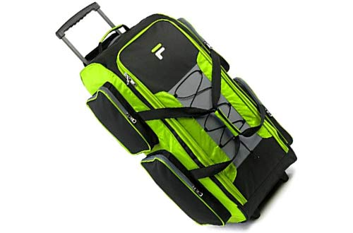 Large Lightweight Rolling Duffel Bag