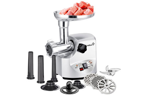 Ivation 1800 Watt 2.5 hp Electric Meat Grinder Mincer