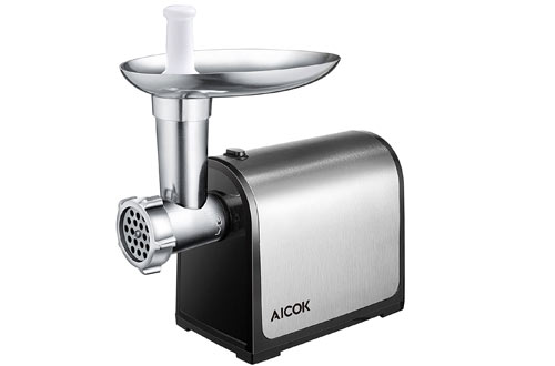 Aicok Electric Meat Grinder, Stainless Steel Meat Mincer