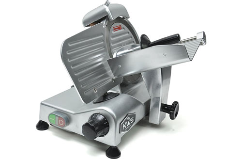 KWS Premium Commercial 320w Electric Meat Slicer
