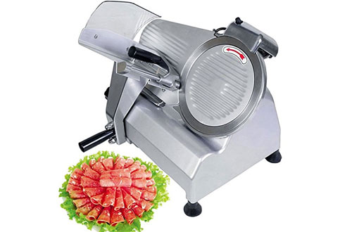 VEVOR Commercial Meat Slicer 10 Inch Electric Food Slicer