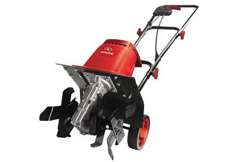 Snow Joe TJ602E-RED Electric Garden Tiller/Cultivator
