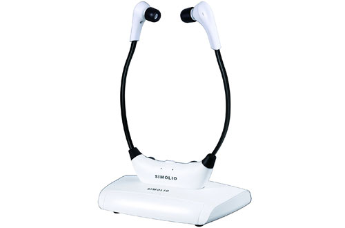 Simolio Wireless TV Headsets - TV Hearing Aid Devices