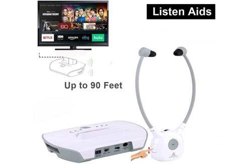 Wireless Hearing Aid Headset System