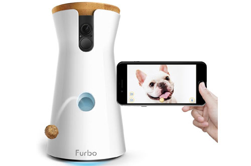 Furbo Dog Camera: Treat Tossing, Full HD Wifi Pet Camera and 2-Way Audio