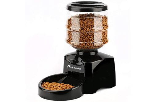 Automatic Pet Feeder Electronic Control Feeder with Big LCD Screen