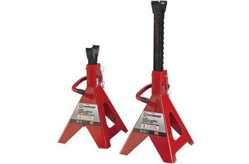 Strongway Double-Locking Jack Stands