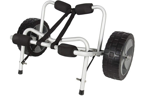 SKY1251 Boat Kayak Canoe Carrier Dolly Trailer Tote Trolley Transport Cart Wheel