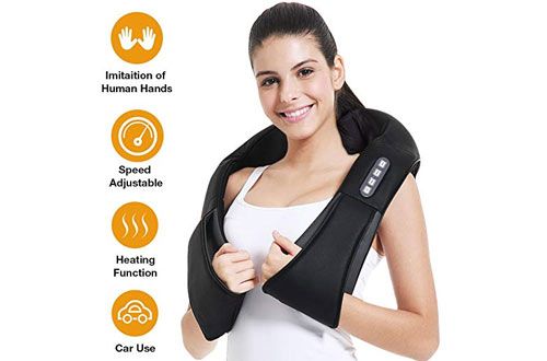 Shiatsu Neck Massager - Back and Neck Massager