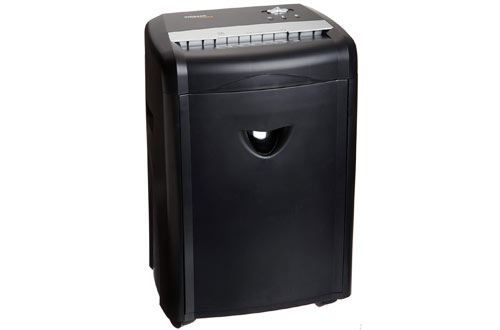 High-Security Micro-Cut Paper, CD, and Credit Card Shredder with Pullout Basket