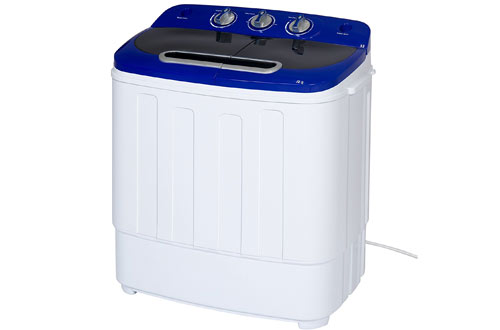 Portable Compact Mini Twin Tub Washing Machine and Spin Cycle