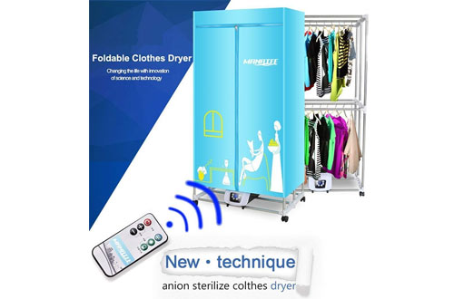 Portable Clothes Dryer 1200W Electric Laundry Drying Rack