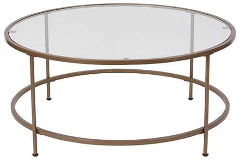 Flash Furniture Astoria Collection Glass Coffee Table