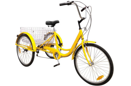 Popsport 24 Inch Adult Tricycle