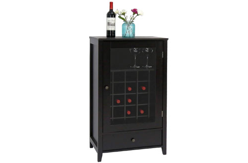 Peach Tree Sideboard Cabinet Wine Storage