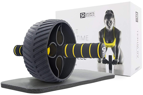 Sports Sweat Ab Wheel - Abdominal Exercise Wheel for  Strength Training