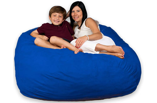 Fugu 5 Foot Royal Blue Bean Bag