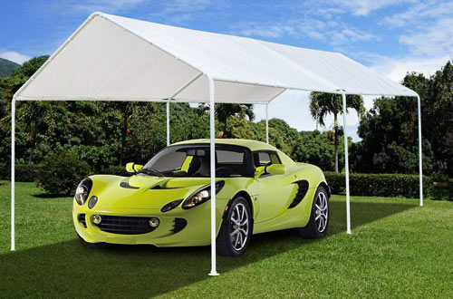VINGLI 10'x20' Heavy Duty Domain Carport Car Canopy