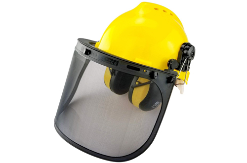 Neiko 53880A 4-in-1 Safety Helmet with Hearing and Face Protection