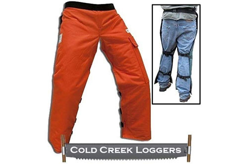 Cold Creek Loggers Chainsaw Apron Safety Chaps Pocket