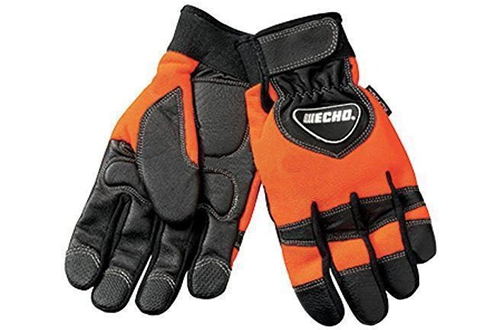 Echo Large Chainsaw Reinforced Protective Gloves