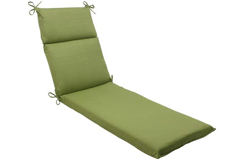 Pillow Perfect Indoor/Outdoor Forsyth Chaise Lounge Cushion