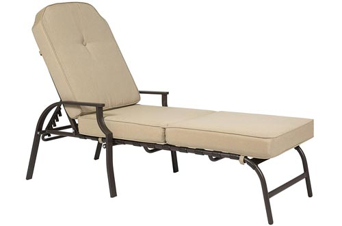 Best Choice Products Outdoor Chaise Lounge Chair