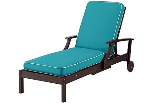 Premium Outdoor Patio Chaise Lounge Cushion