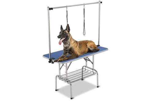 Yaheetech Professional Adjustable Portable Dog Pet Grooming Table