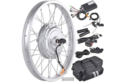 """AW 16.5"""" Electric Bicycle Front Wheel Frame Kit"""