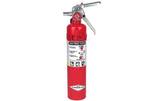 Fire Extinguisher with Wall Bracket