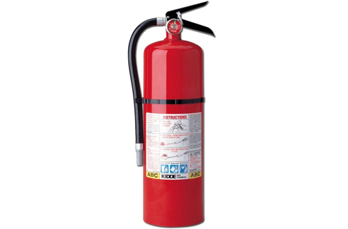Kidde 466204 Pro 10 Multi-Purpose Fire Extinguisher