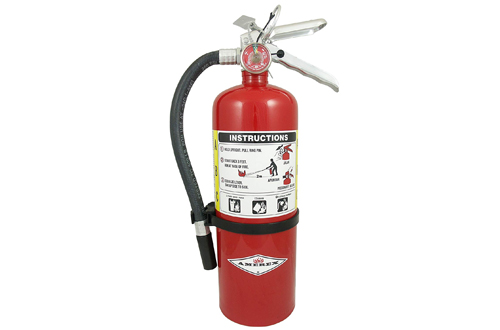Chemical Fire Extinguisher with Wall Bracket