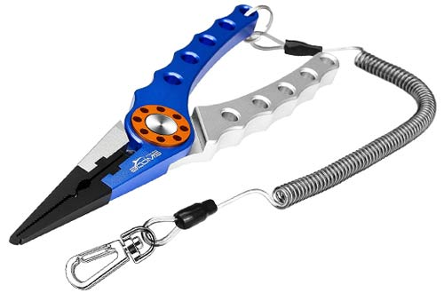 Booms Fishing X1 Aluminum Fishing Pliers Hook Remover