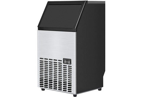 Costzon Built-In Stainless Steel Commercial Ice Maker