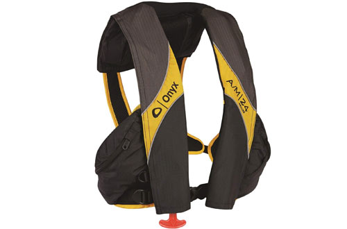Deluxe Auto/Manual Inflatable Life Jacket