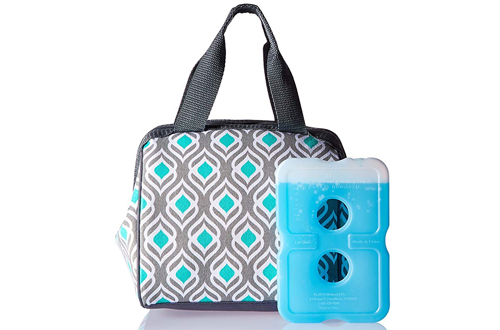 Fit & Fresh Charlotte Insulated Lunch Bag for Women & Girls