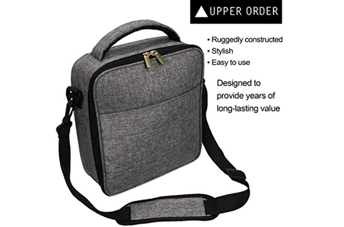 Upper Order Durable Insulated Lunch Box Tote Reusable Cooler Bag