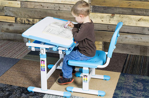 VIVO Height Adjustable Children's Desk and Chair Set